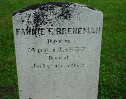 Fannie F Breneman