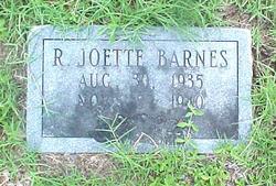 R. Joette Barnes