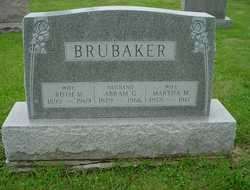 Martha M <I>Shearer</I> Brubaker