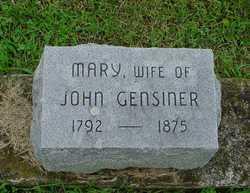 Mary Gensiner