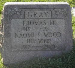 Sarah Naomi <I>Wood</I> Gray