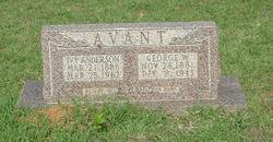 Ivy Mahue <I>Anderson</I> Avant