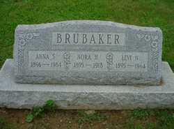 Anna <I>Stauffer</I> Brubaker