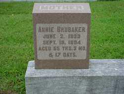 Annie <I>Brubaker</I> Brubaker