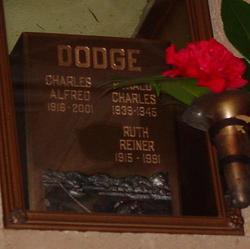 Dr Charles Alfred Dodge