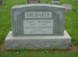 Louisa Shelley <I>Breneman</I> Brubaker