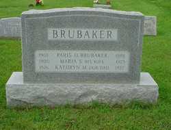 Maria Stauffer <I>Brumbach</I> Brubaker