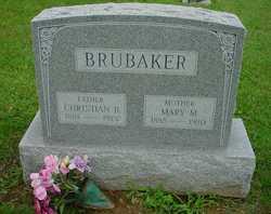 Mary M <I>Nissley</I> Brubaker