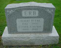 Esther Anna <I>Brubaker</I> Erb