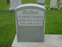 Frances <I>Strickler</I> Erisman