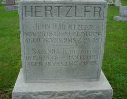 Salinda Keller <I>Forney</I> Hertzler