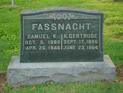 K Gertrude Fassnacht