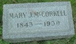 Mary Jane <I>Moore</I> McCorkell