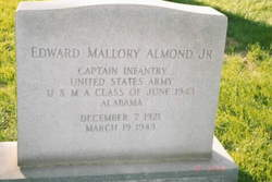 Capt Edward Mallory Almond, Jr