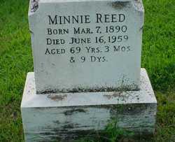 Minnie <I>Keller</I> Reed