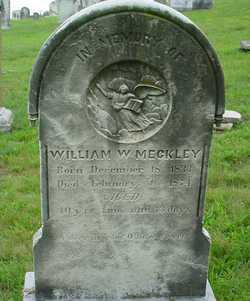 William W Meckley