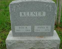 Anna <I>Hershey</I> Keener