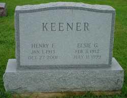 Elsie Good <I>Miller</I> Keener