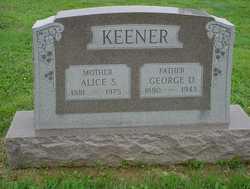 Alice <I>Stauffer</I> Keener
