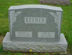 Walter D Keener