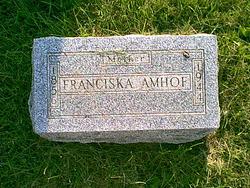 Franciska <I>Rotsch</I> Amhof