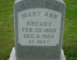 Mary Ann Kready