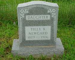 """Matilda K """"Tilly"""" <I>Brandt</I> Newgard"""
