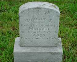 Ernest E Musser