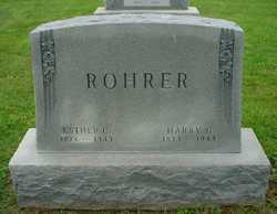 Esther <I>Charles</I> Rohrer