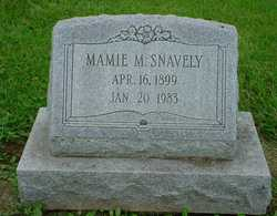Mamie M Snavely