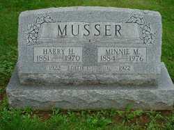 Minnie Myra <I>Herr</I> Musser
