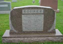 Elizabeth Kauffman <I>Felker</I> Rohrer