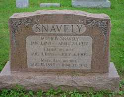 Emma B. <I>Metzler</I> Snavely