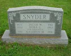 Jacob Weidman Snyder