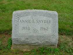 Annie E Snyder