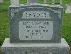 Sue Royer <I>Bender</I> Snyder