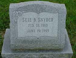 Suie B Snyder