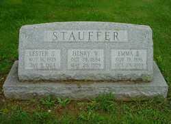 Henry W Stauffer