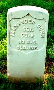 Sgt Alexander Dunn