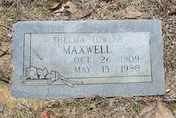 Thelma E <I>Towler</I> Maxwell