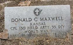 Donald Condon Maxwell