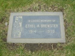 Ethel A Brewster