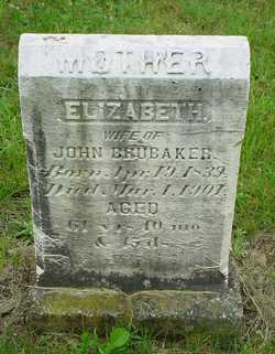 Elizabeth <I>Shelly</I> Brubaker