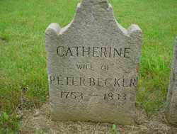 Catherine <I>Kerper</I> Becker