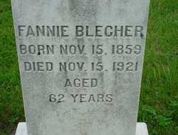 Fannie Blecher