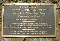 Capt William Perry