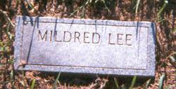 Mildred F Lee