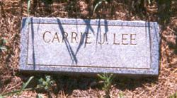 """Caroline Jackson """"Carrie"""" Lee"""