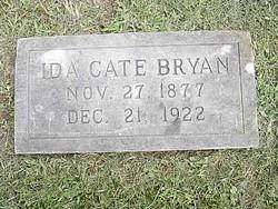 Ida Bell <I>Cate</I> Bryan