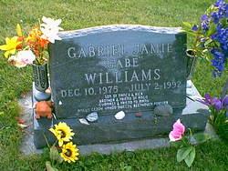 "Gabriel Jamie ""Gabe"" Williams"